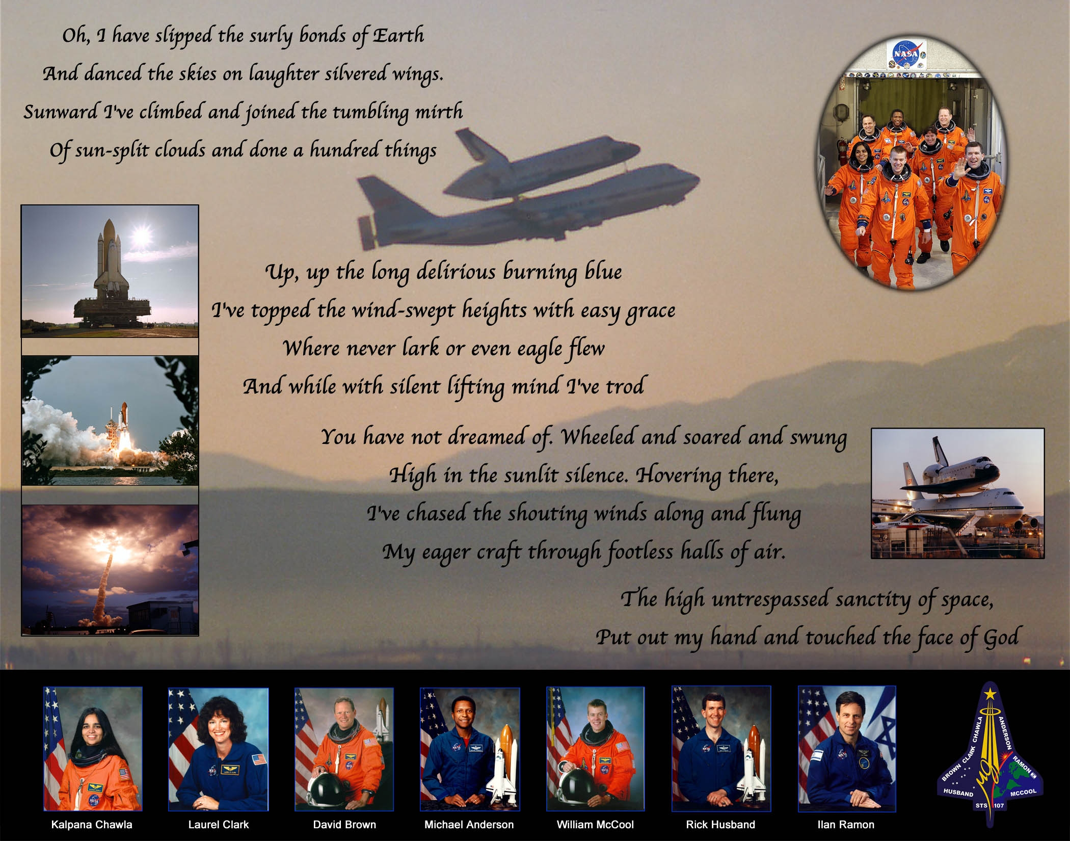 Space Shuttle Door Gunner Certificate - Pics about space